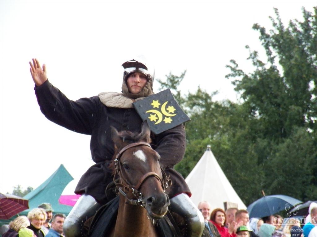 Rycerz Jaśko turniej rycerski