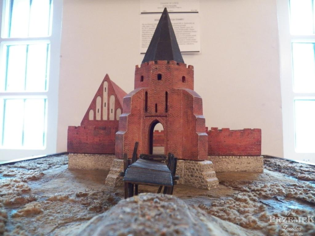 zamek w liwie makieta