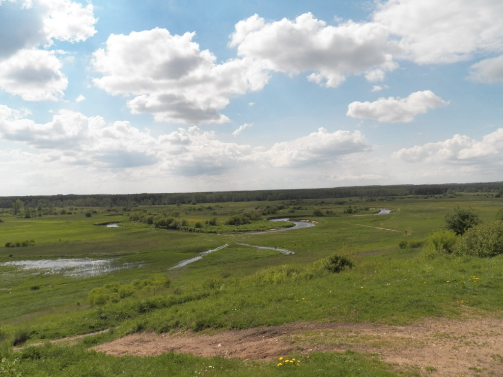 widok na Liwiec z Sowiej Góry