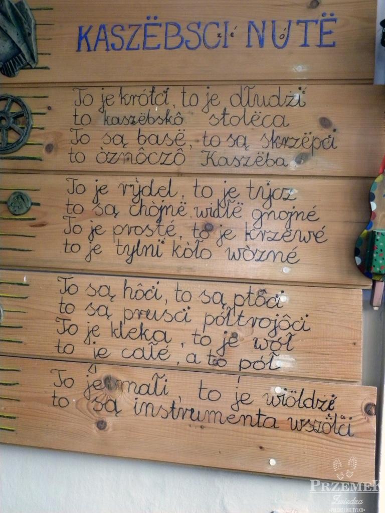 piosenka muzeum kaszubskie