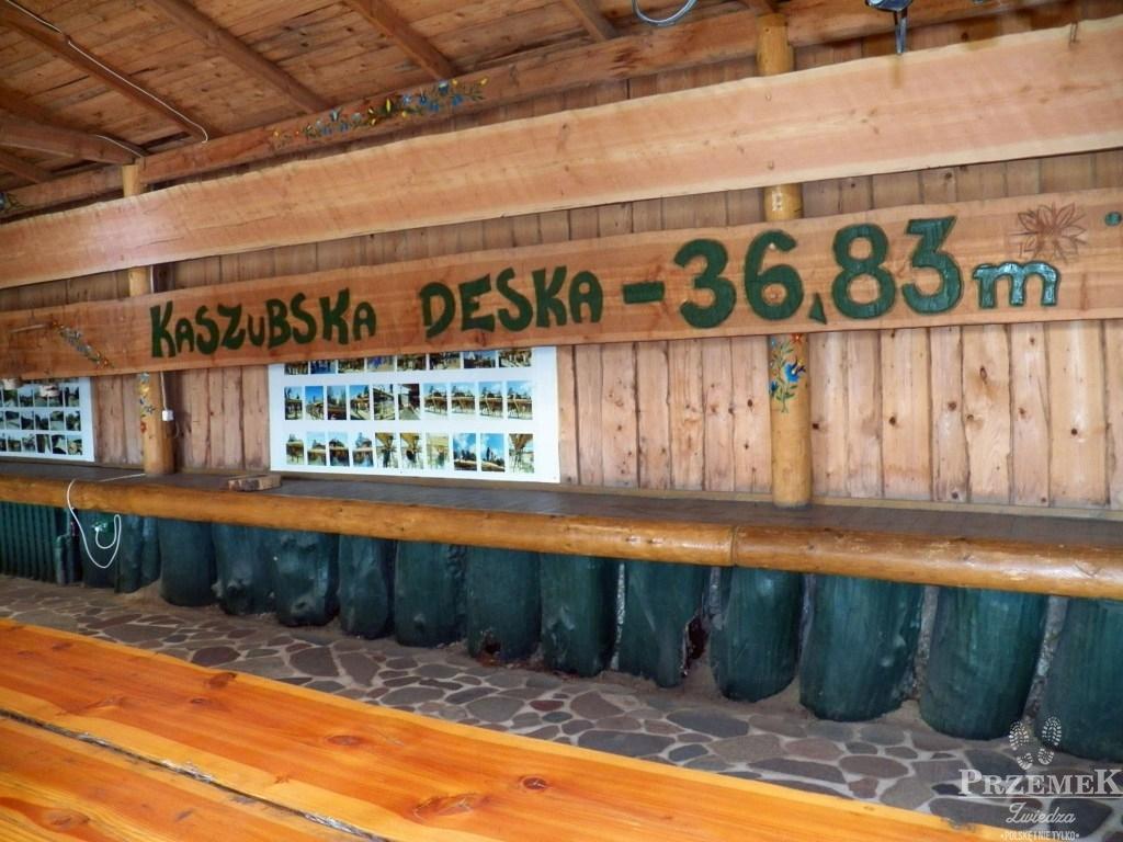 Szymbark najdłuższa deska na świecie