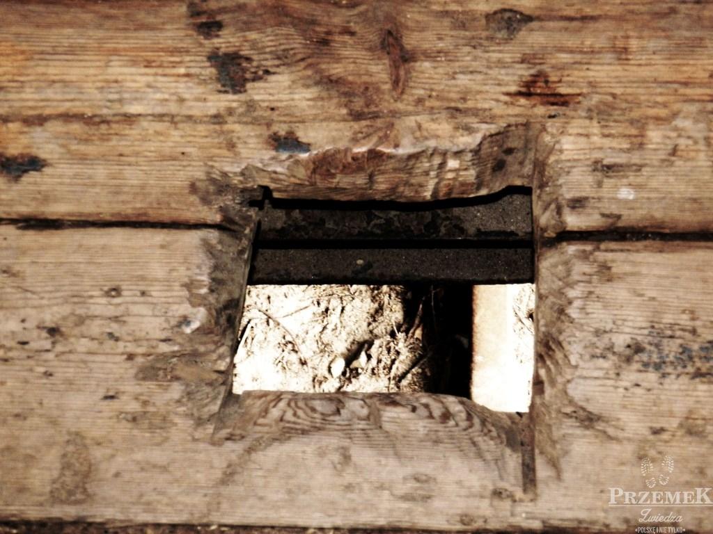 dziura w podłodze
