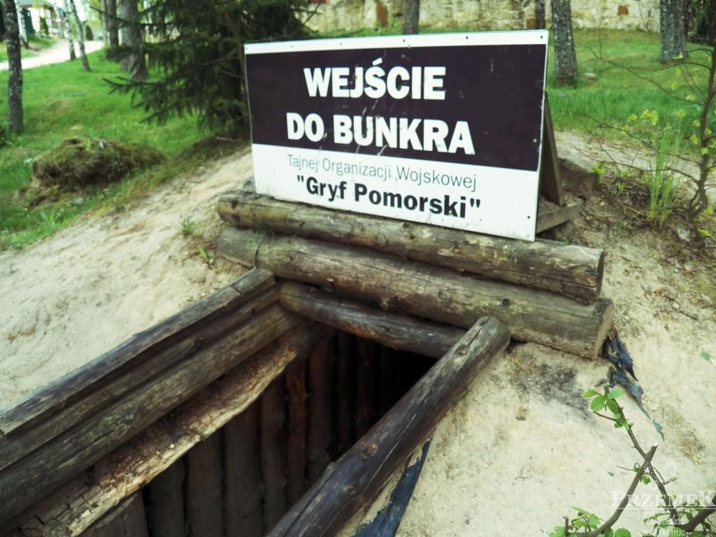 Wejście do bunkru