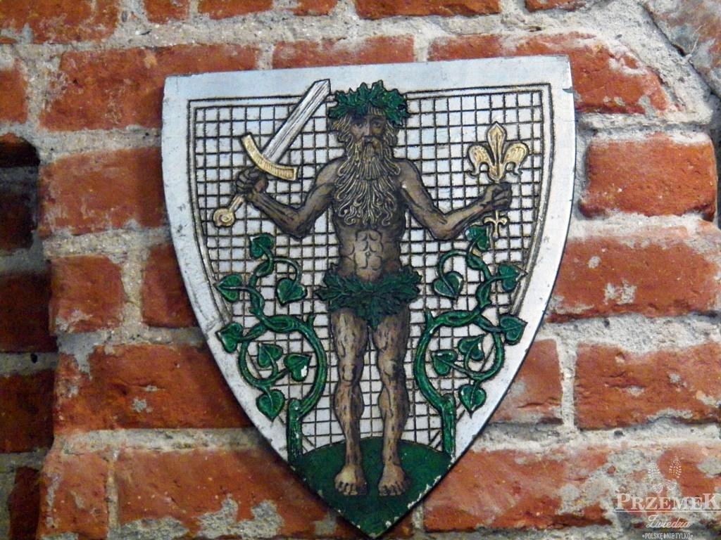 herb nidzicy zamek w nidzicy