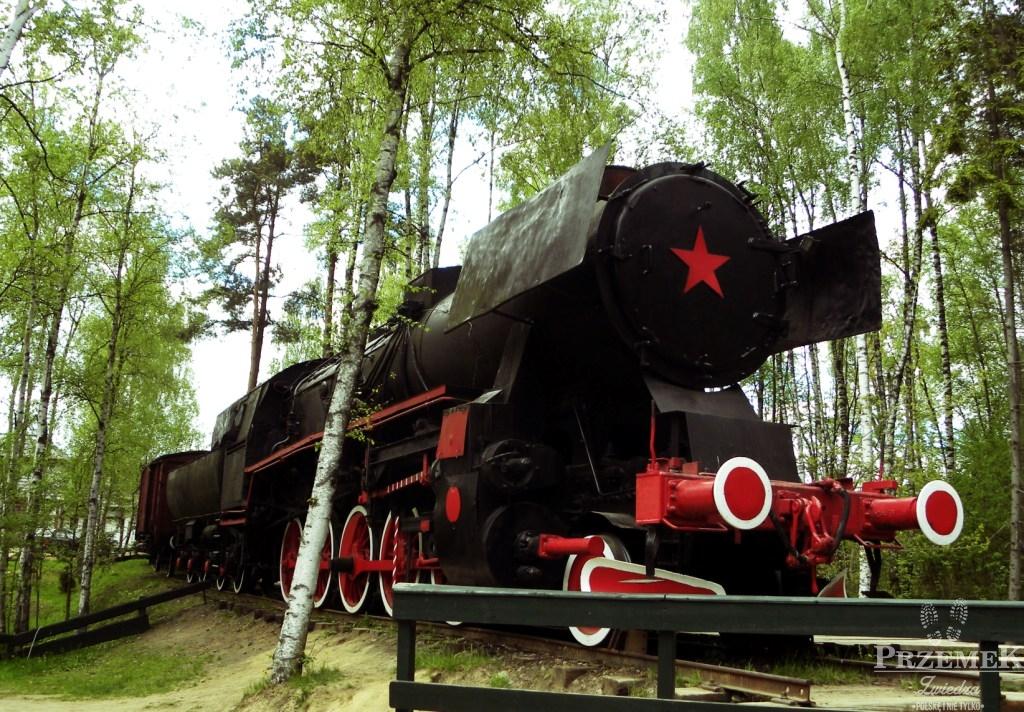 Sowiecka lokomotywa Szymbark