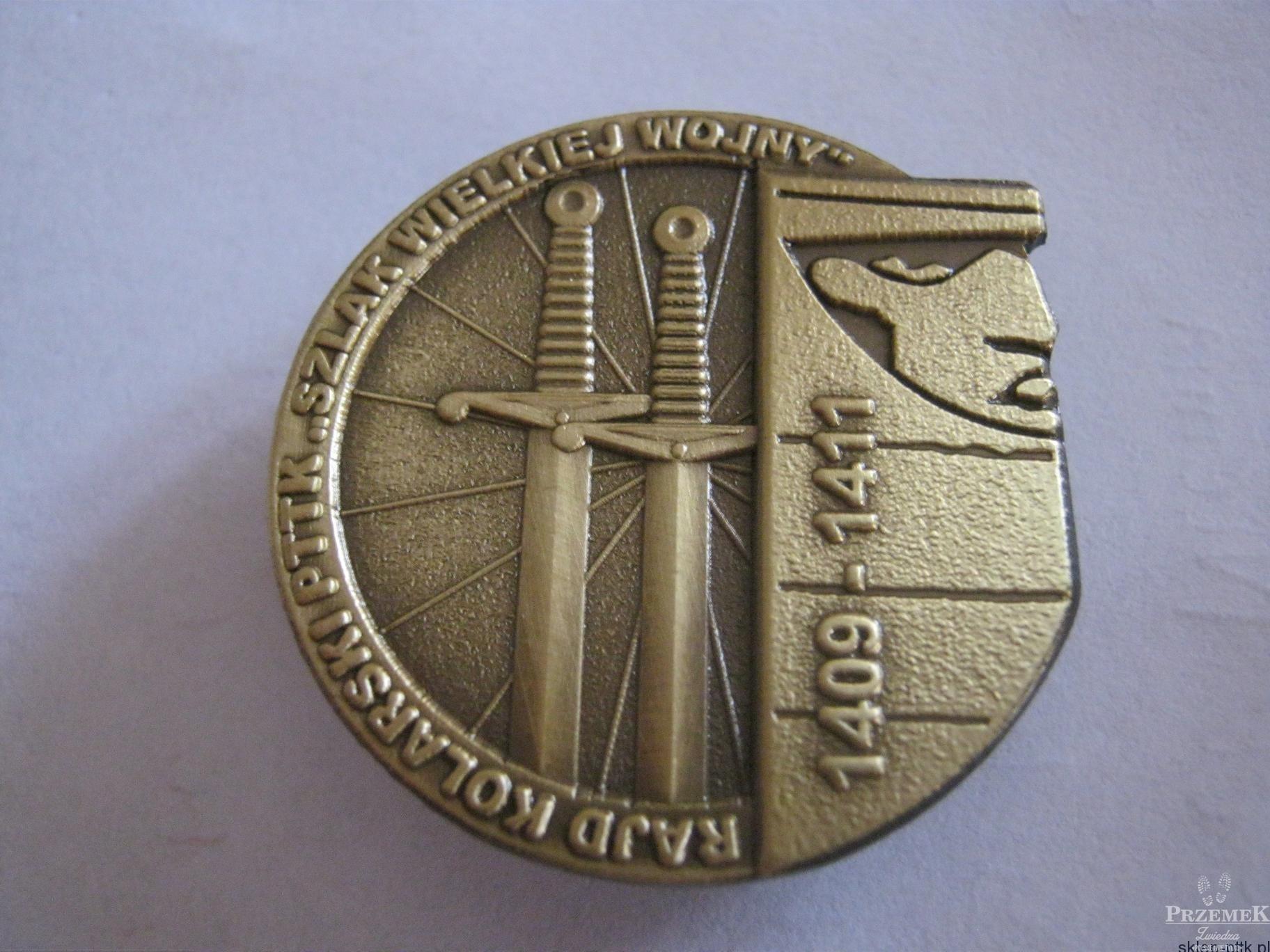 Odznaka Szlak Wielkiej Wojny 1409-1411 - odznaki PTTK dla rowerzystów