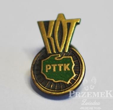 Złota Odznaka KOT - odznaki PTTK dla rowerzystów