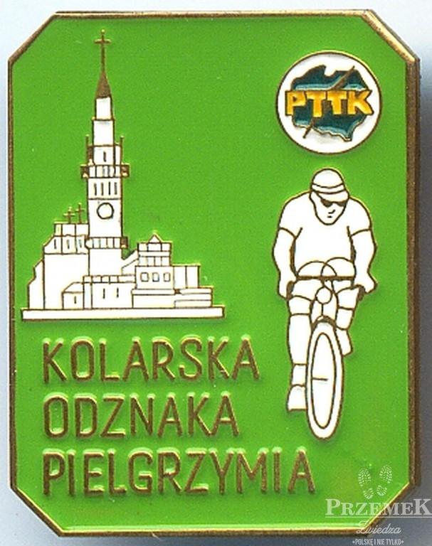 Odznaka KOP w stopniu popularnym odznaki pttk dla rowerzystów