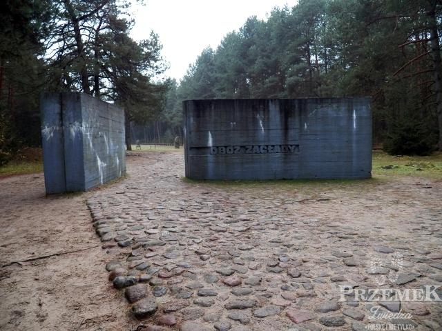 Symboliczna brama główna obozu treblinka