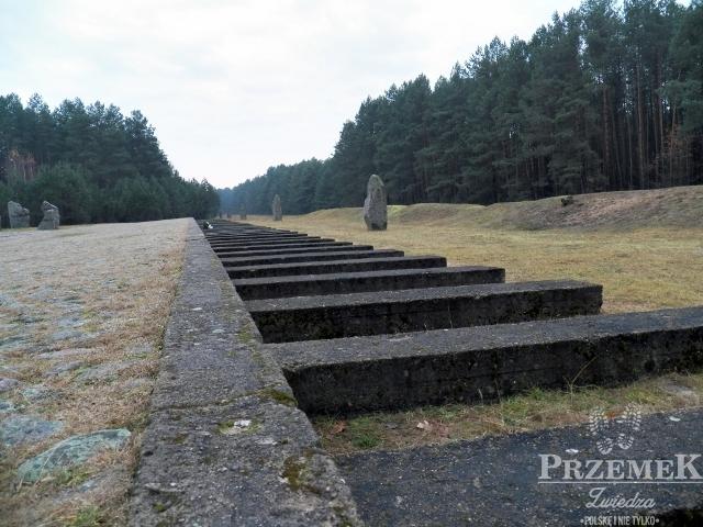 Symboliczna rampa kolejowa Treblinka