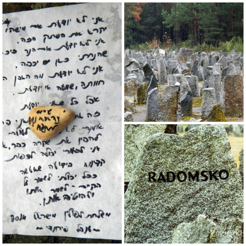 Kamienie, które upamiętniają ofiary obozu zagłady w Treblince