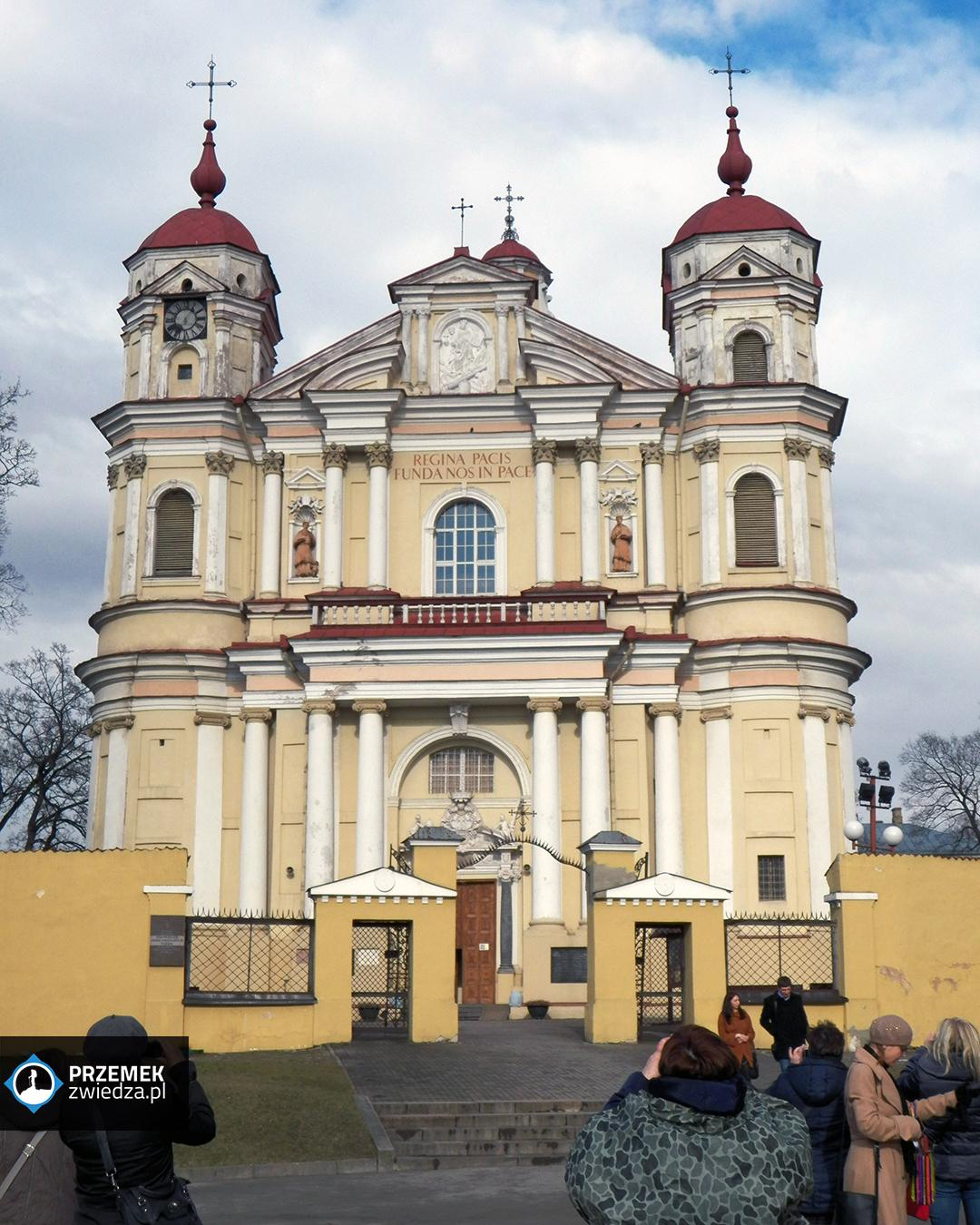 Wilno - Kościoł św. Piotra i św. Pawła