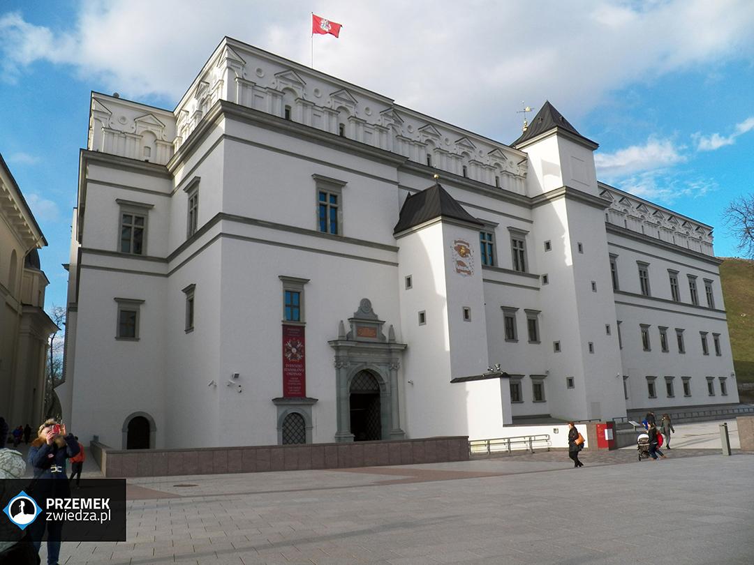 Wilno Pałac Władców