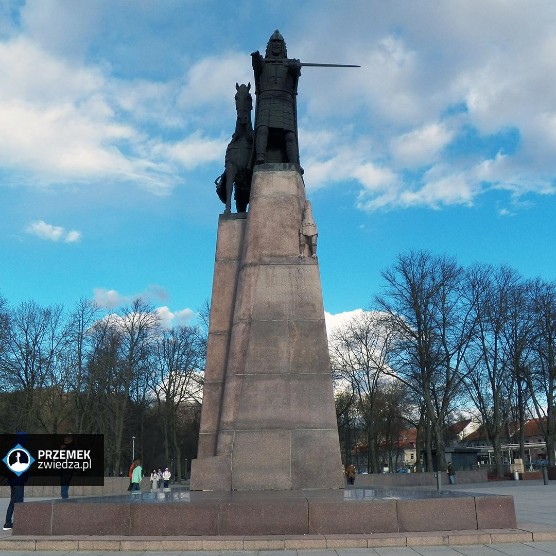 Wilno Pomnik Giedymina