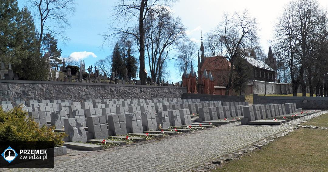 Wilno Groby polskich żołnierzy poległych w walkach za Ojczyznę