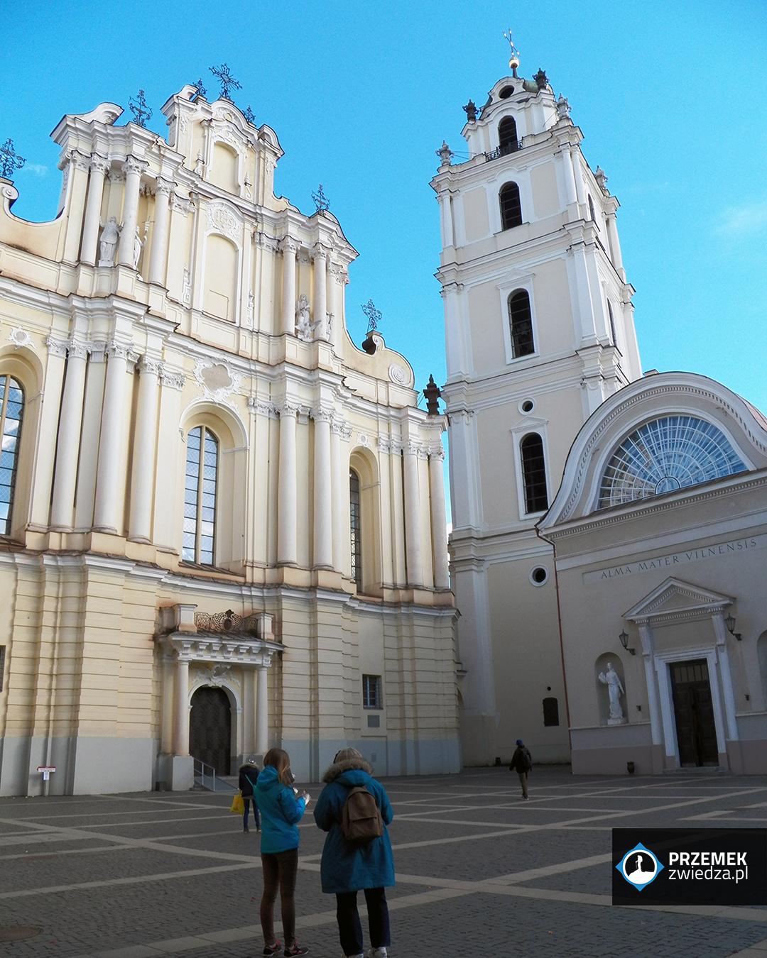 Wilno Kościół św. Janów oraz dzwonnica