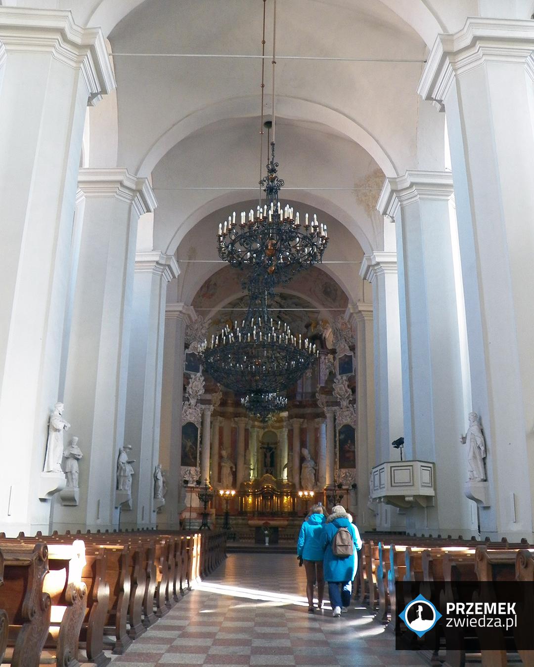 Wilno Wnętrze kościoła św. Janów