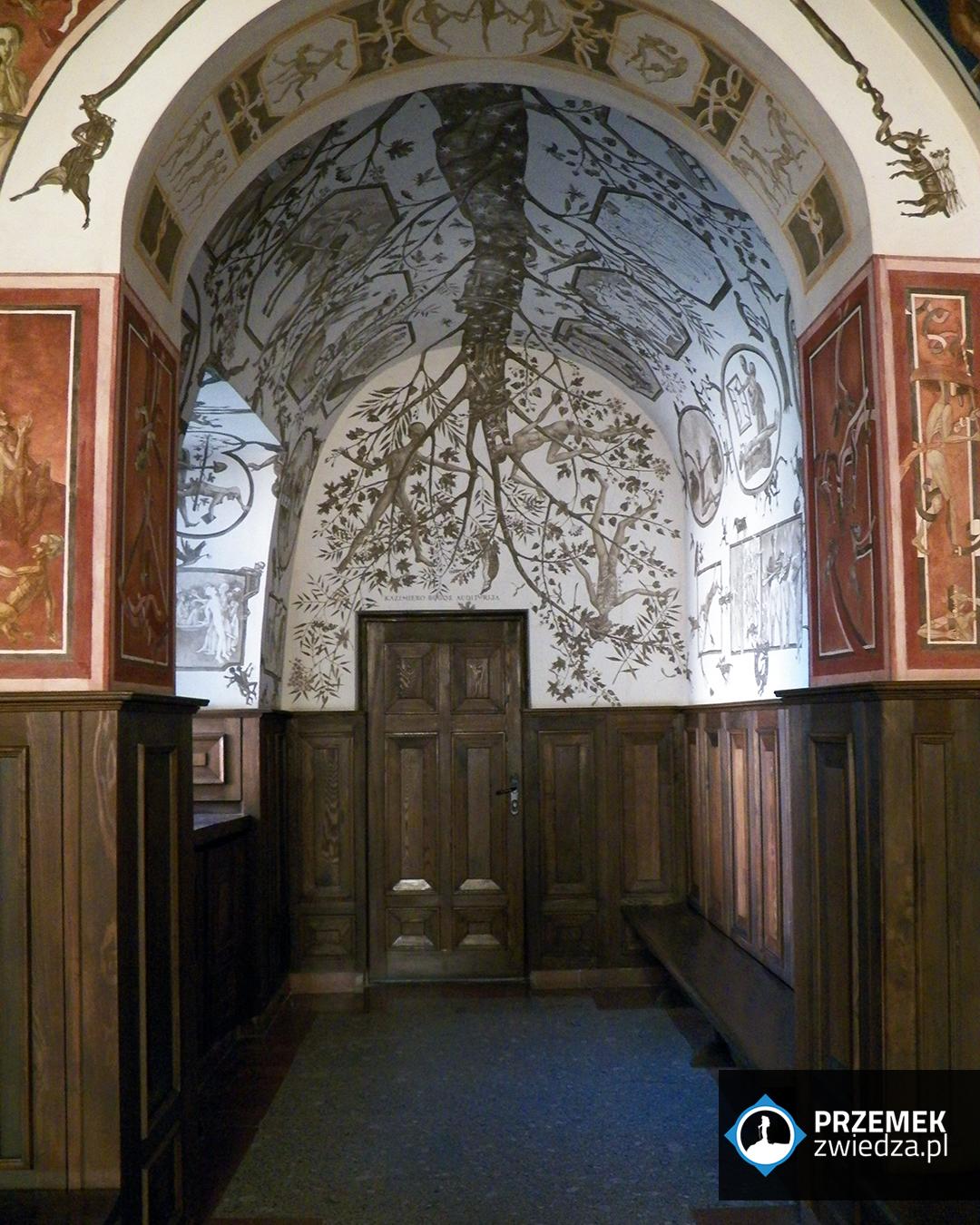 Wilno Fragment fresków