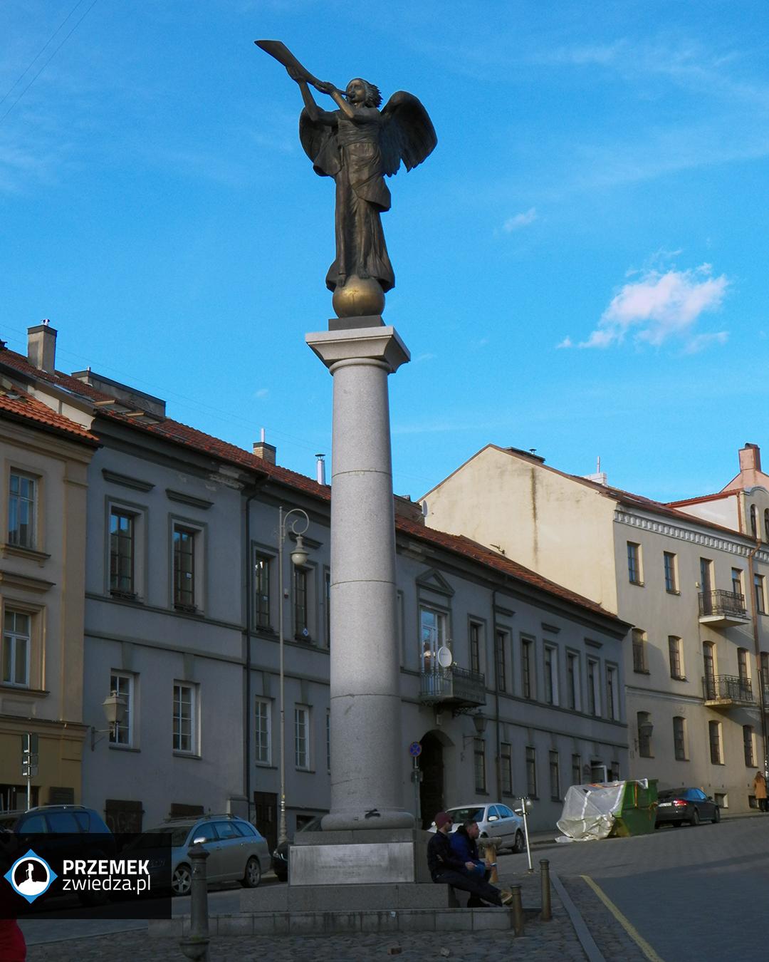 Wilno Anioł Zarzecza - symbol dzielnicy