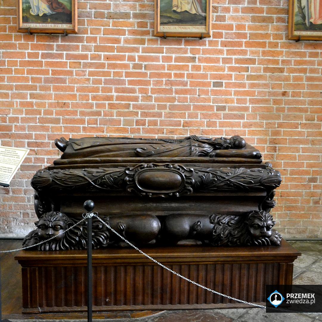 Sarkofag księżniczki Adelajdy Sandomierz