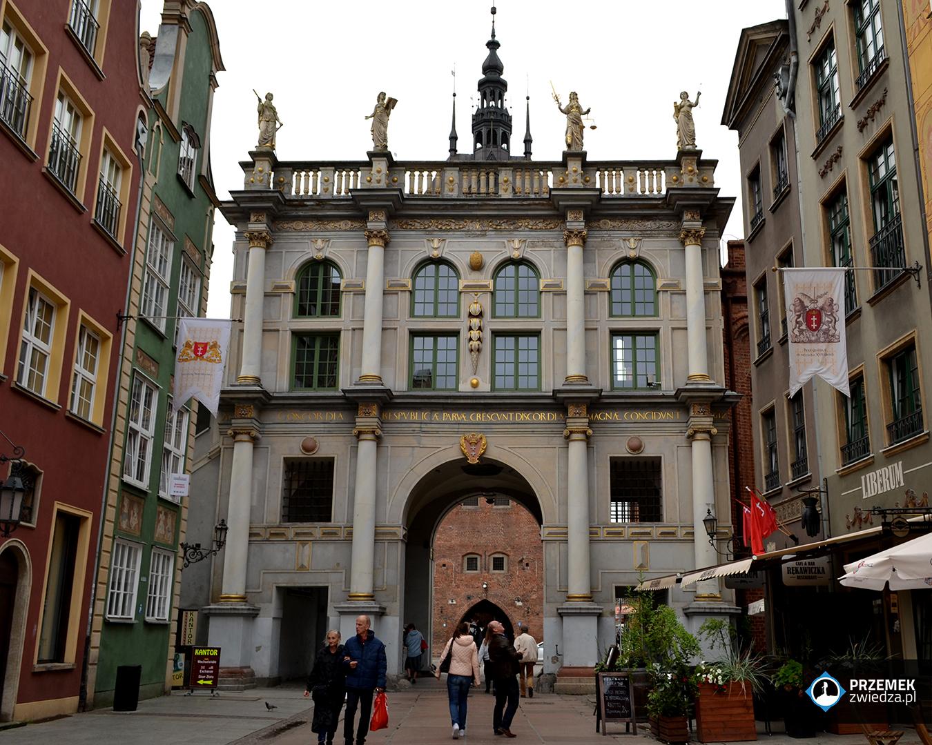 brama złota gdańsk