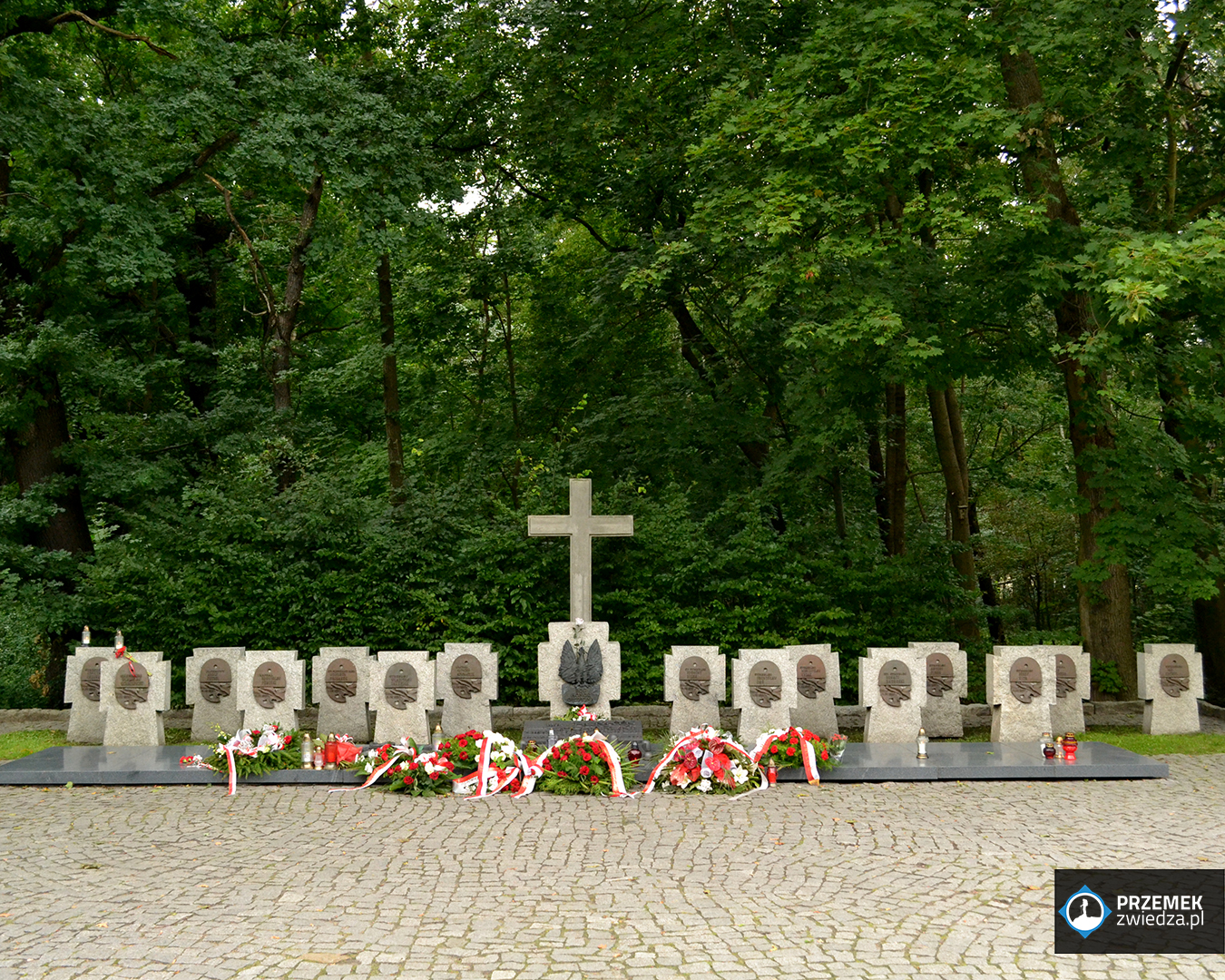 Cmentarz obrońców na Westerplatte