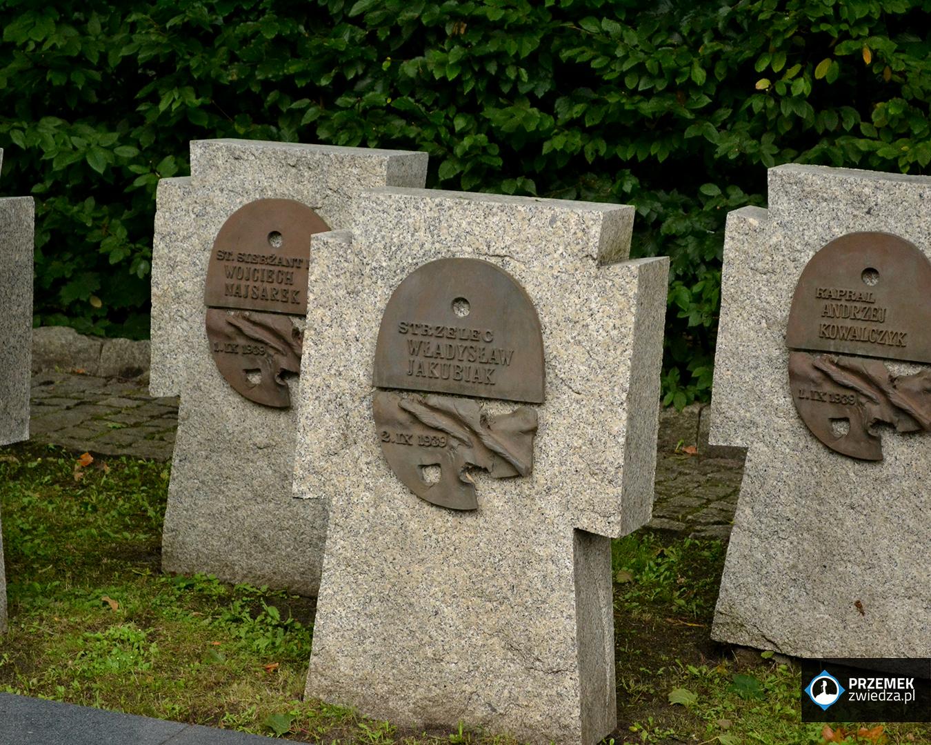 Nagrobki poległych obrońców Westersplatte