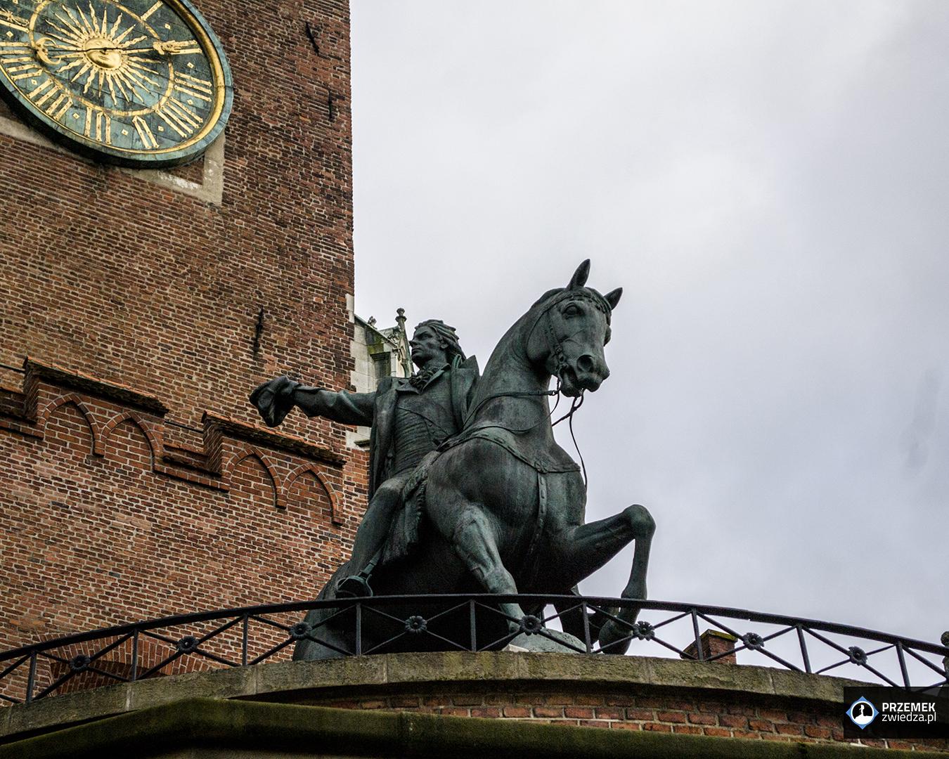Pomnik Tadeusza Kościuszki Wawel Kraków