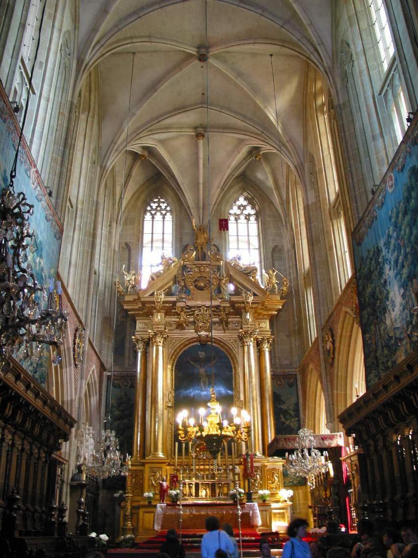 ołtarz główny katedra wawelska kraków przemek zwiedza