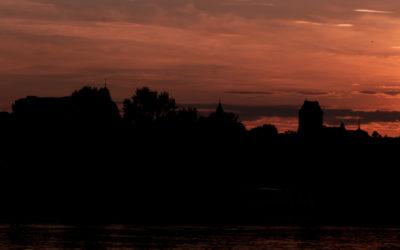 Historia jednego zdjęcia – zachód słońca nad Warszawą