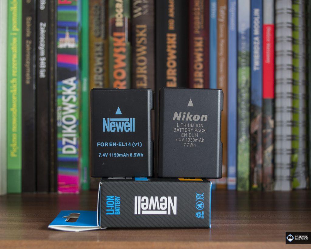 Akumulator Newell EN-EL14 i Nikon EN-EL14