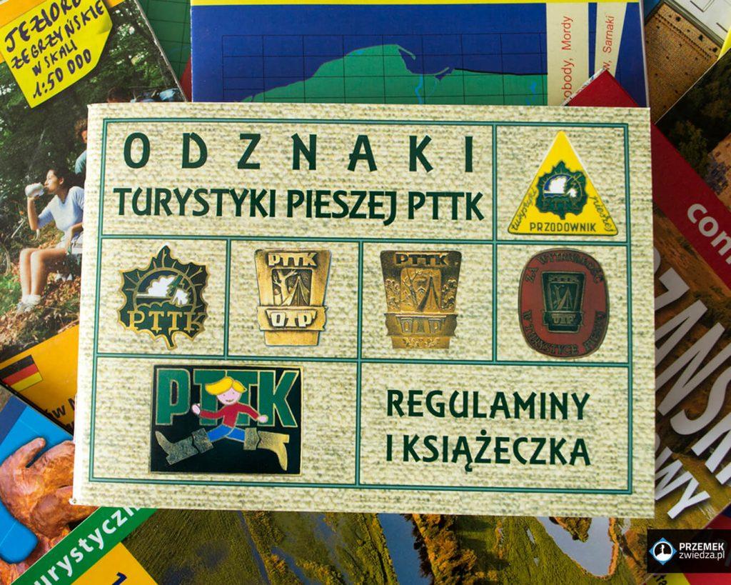 Książeczka do Odznaki Turystyki Pieszej PTTK