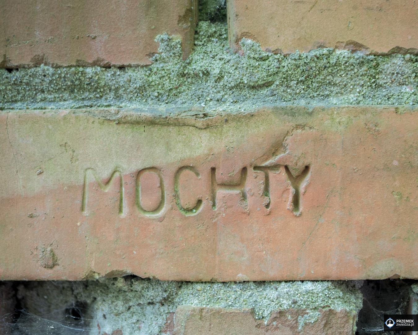Cegły z nazwą cegielni twierdza modlin rowerem wzdłuż dwóch rzek